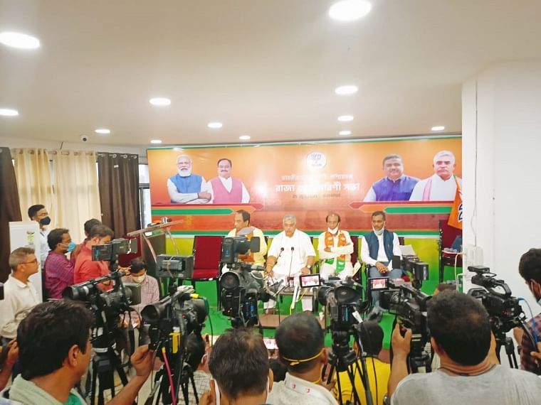 West Bengal: BJP to feature Suvendu Adhikari alongside state president Dilip Ghosh on party posters
