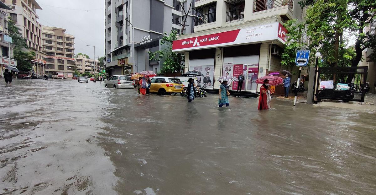 Mumbai: BJP targets BMC, Uddhav over waterlogging in city