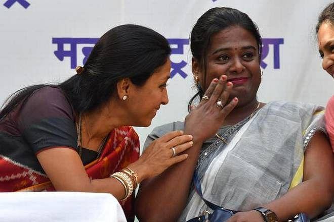 Supriya Sule and Priya Patil