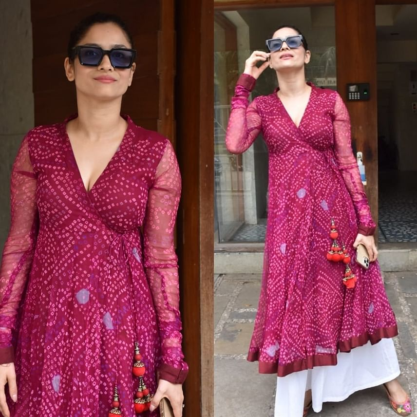 Watch: Ankita Lokhande forgets to wear her mask while posing for paparazzi, says 'I've taken vaccine'