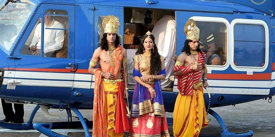 Uttar Pradesh: Ramleela in Ayodhya will be unique this year with an array of Bollywood celebrities taking part