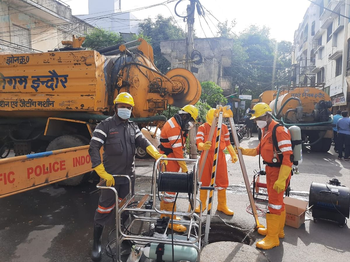 Indore: IMC all set for sanitation workers' safety challenge