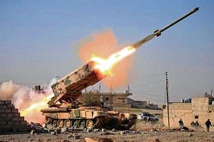 Rocket fire targets US base in Syria
