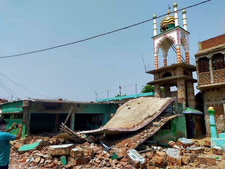 Bihar: Madarsa building damaged in massive blast in Banka, 6 injured