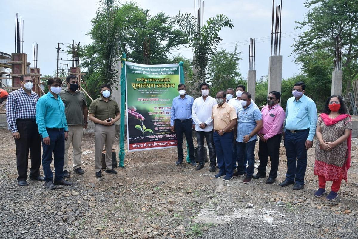 Kalyan: KDMC plants 1400 trees on World Environment day