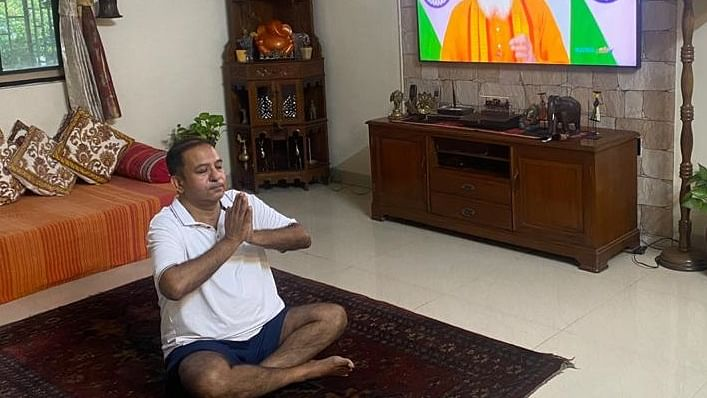 Konkan Railway observes International Yoga Day