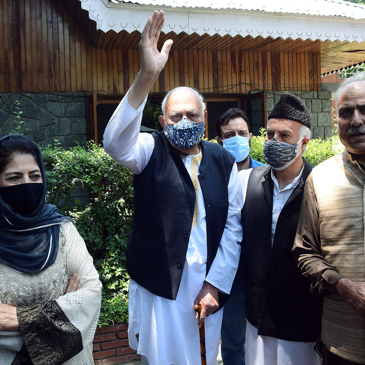 14 political leaders from Jammu and Kashmir to attend all-party meeting with PM Modi today