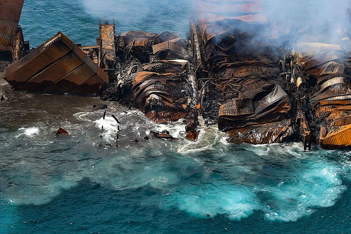 Environmentalists sue Sri Lanka government, MV X-Press Pearl operator over ship wreck