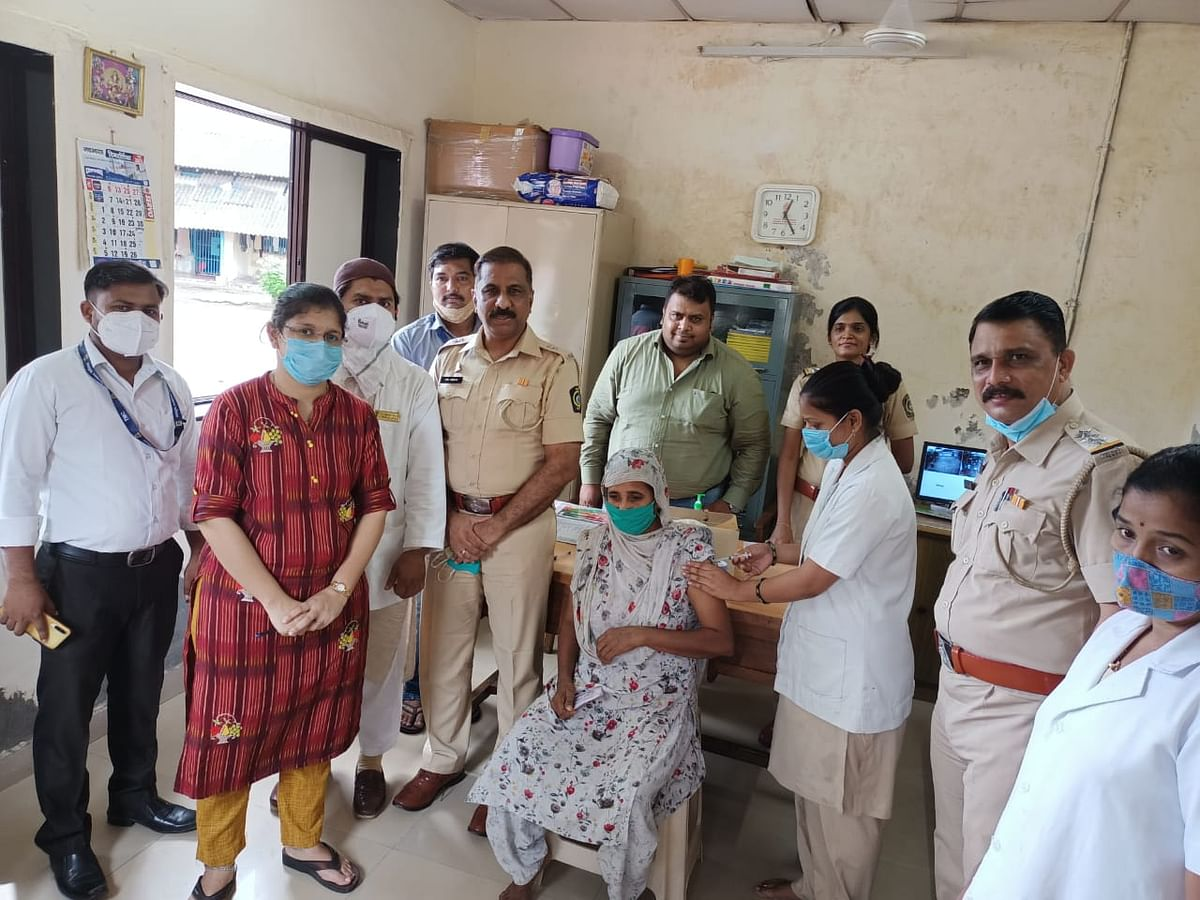 COVID-19 in Thane: 108 inmates from central jail, 100 patients from mental hospital vaccinated