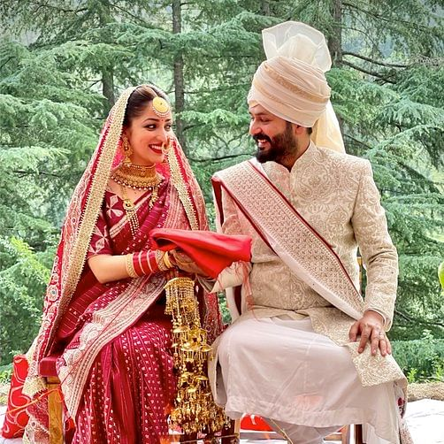 Yami Gautam ties the knot with 'Uri' director Aditya Dhar in an intimate ceremony