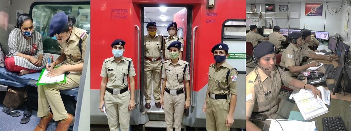 WR's RPF takes rigorous actions to ensure safety of women in trains & at stations
