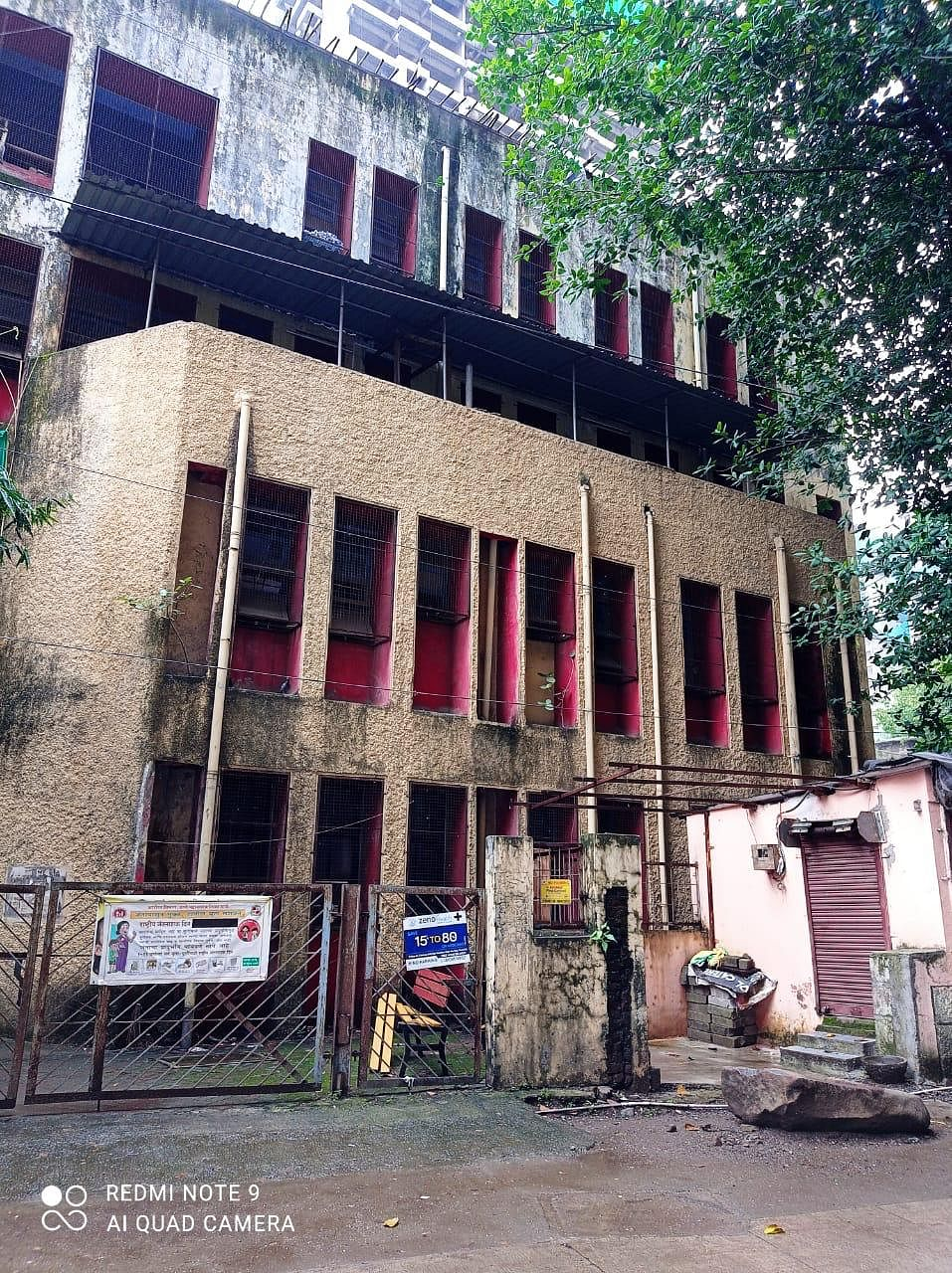 Thane: COVID vaccination centre closed for last 15 days as building in dilapidated condition
