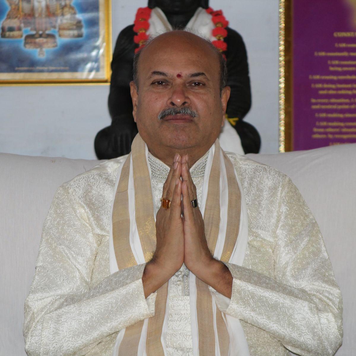 """The Shloka """"Ishaa Vaasyam Idam Sarvam"""": NJ Reddy, YPV Sadhana"""