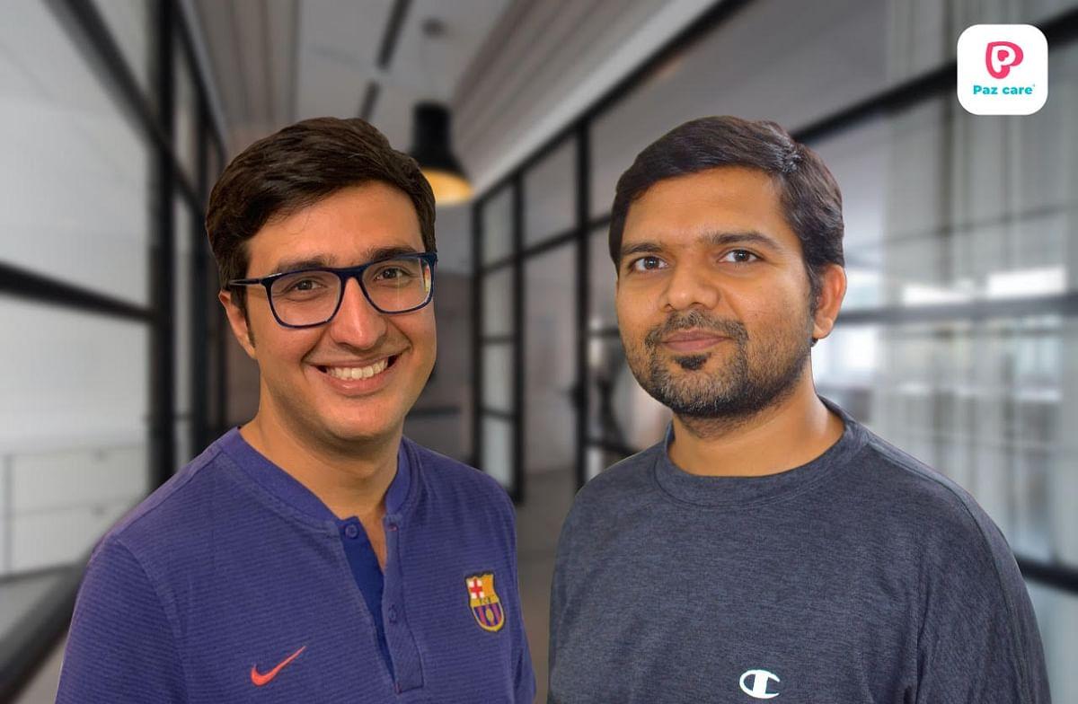 Co Founders Sanchit Malik (left), Manish Mishra