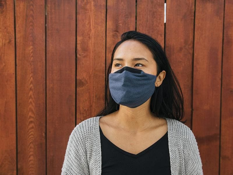 Single fabric, double layer mask may put you in trouble!