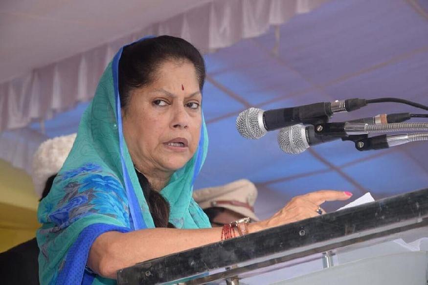 Bhopal: Khambe pe chadne se vibhag nahin chalta, says angry Yashodhara over power subsidy