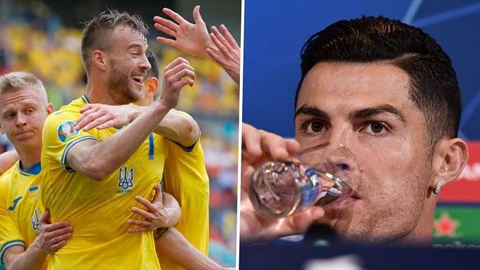 Euro 2020: Ukraine's goal-scorer Yarmolenko takes a dig at Ronaldo, Pogba; asks Coca-Cola and Heineken to 'get in touch'