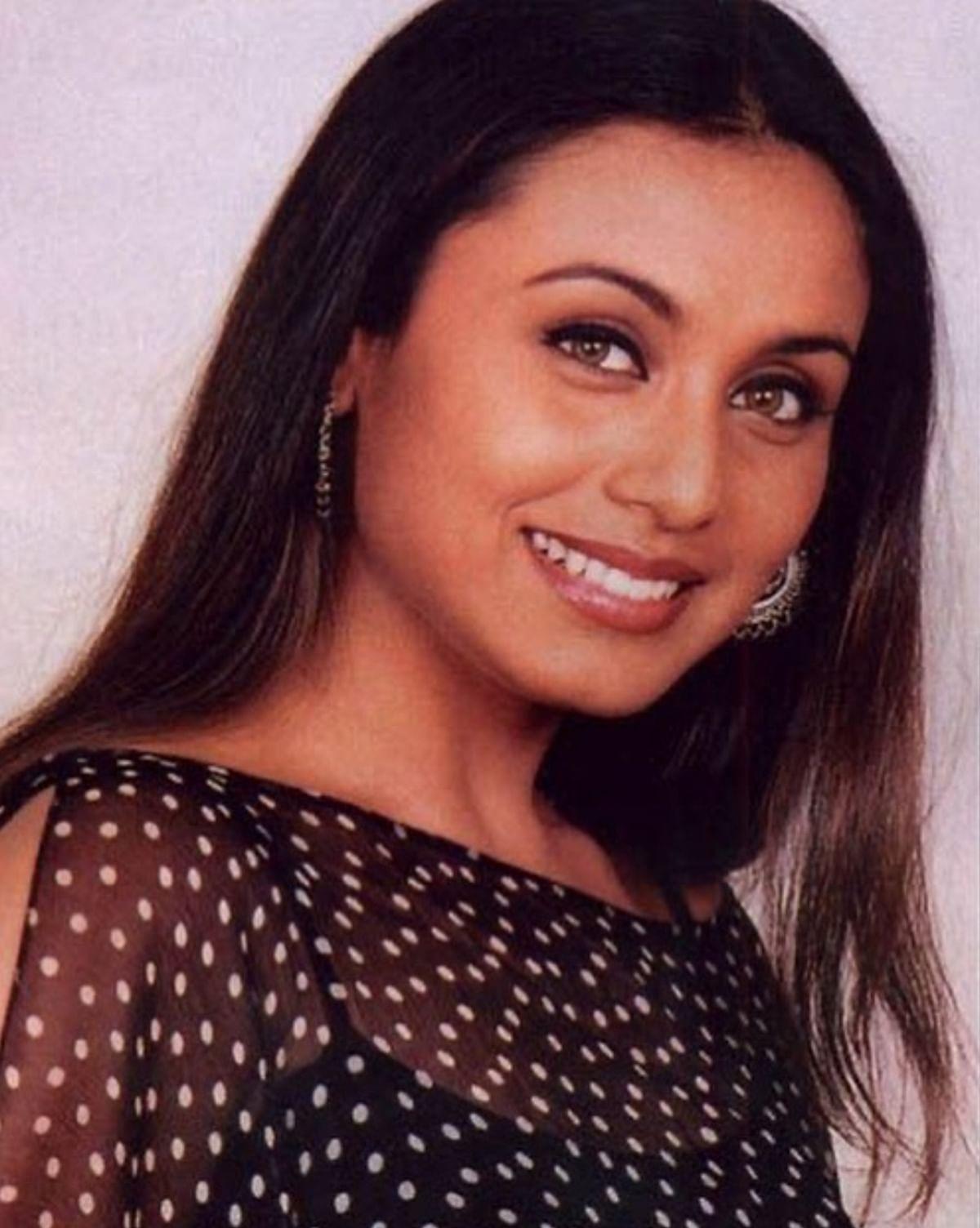 Actress Rani Mukherji
