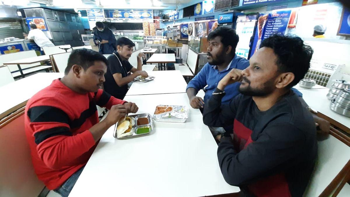 Restaurants re-open in Mumbai with 50 per cent capacity.