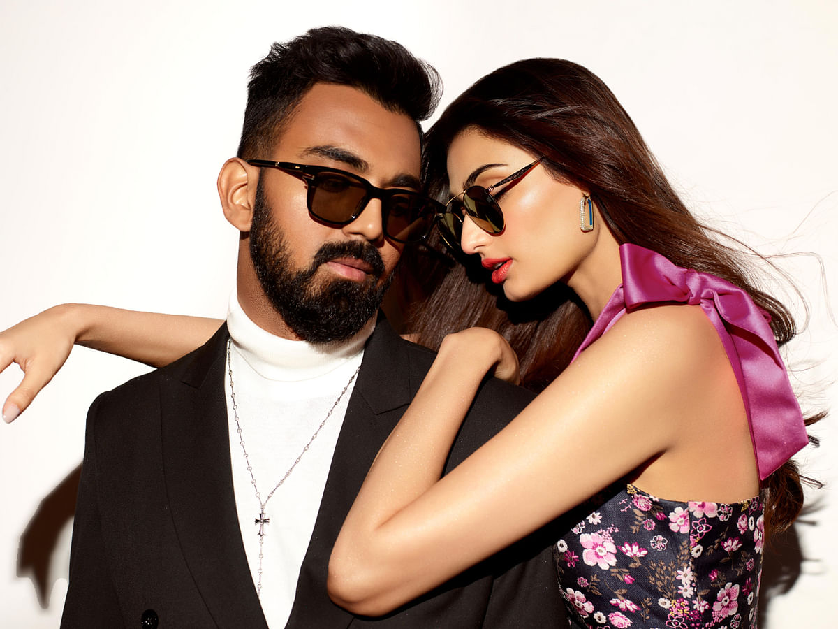 Luxury eyewear Numis Paris ropes in Athiya Shetty, KL Rahul as brand ambassadors