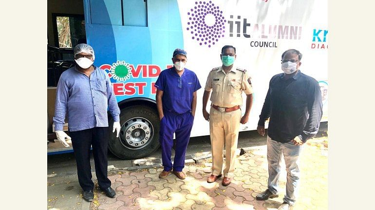 Mumbai: Covid bus continues to monitor G South ward