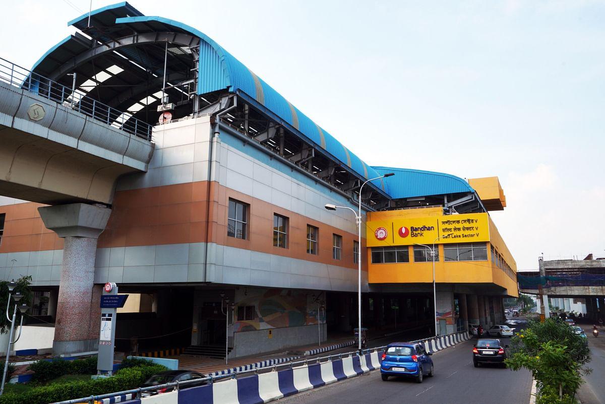 Bandhan Bank acquires branding rights for Salt Lake Sector V metro station