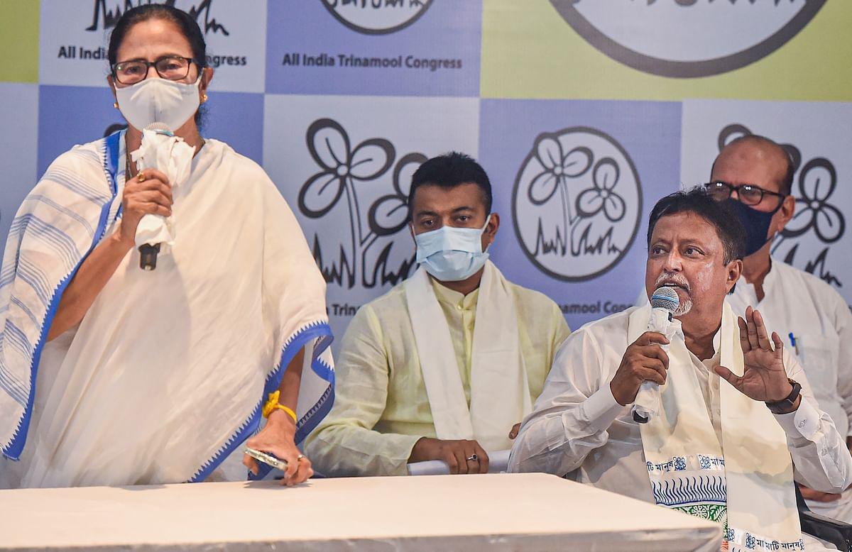 West Bengal: BJP trophy Mukul Roy back on Mamata Banerjee's wall