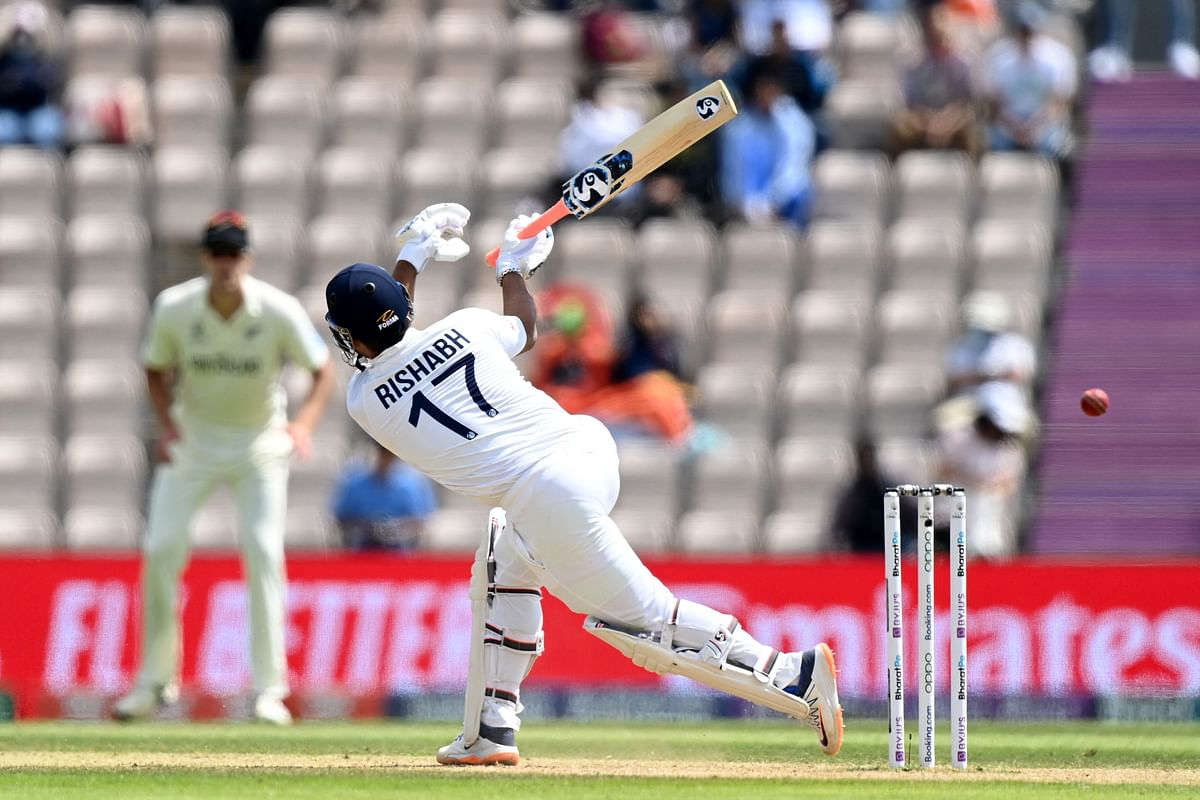 WTC Final Day 6 Lunch Report: Pant, Jadeja key to India's championship hopes as Kohli, Pujara and Rahane depart; India 130/5 with lead of 98