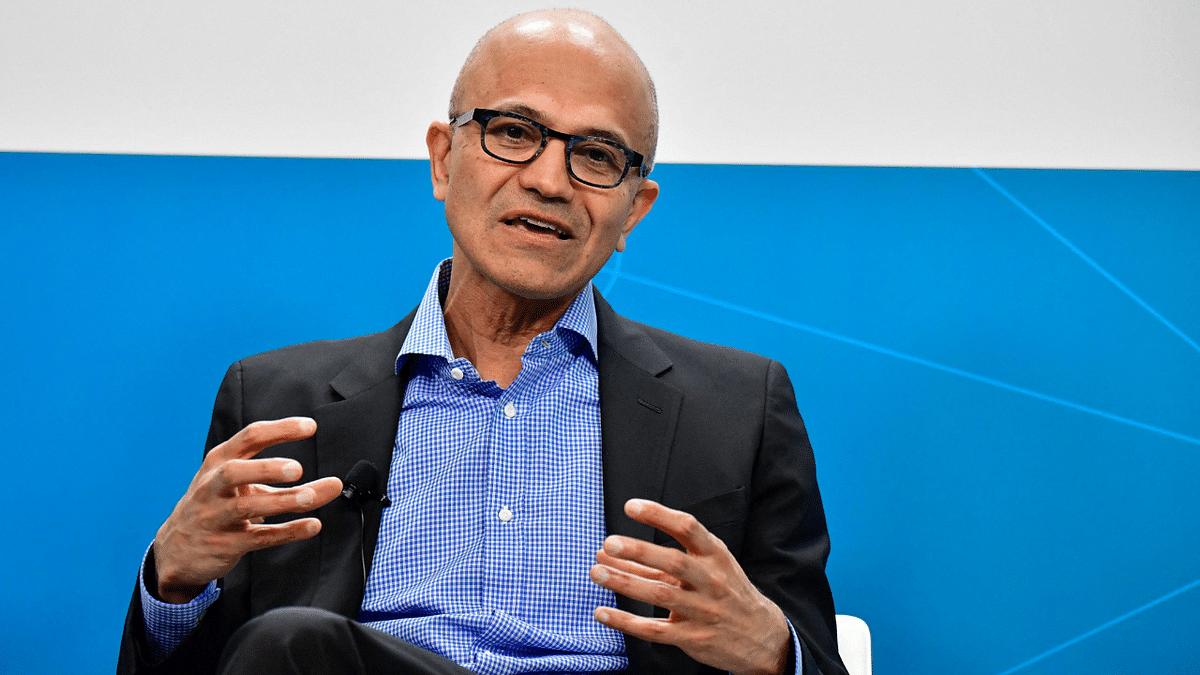 'Chairman and CEO of Microsoft Corporation Satya Nadella