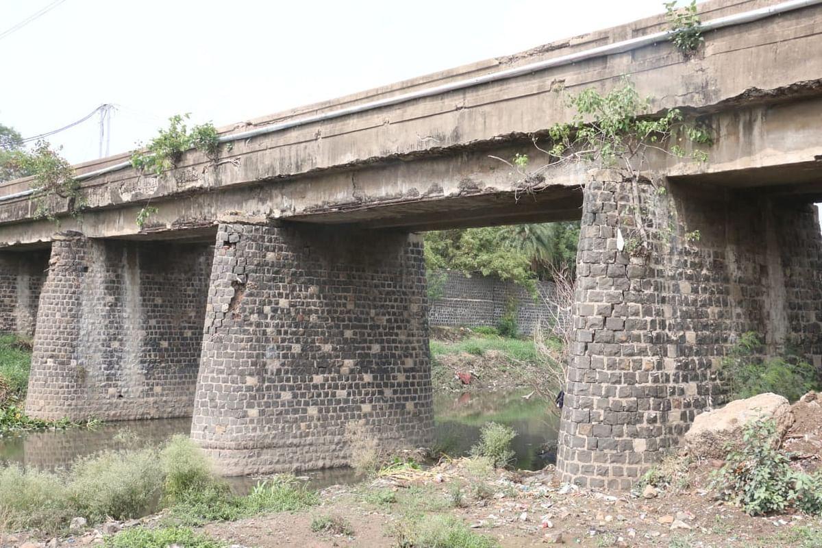 Bhopal: Bhangad Bridge reconstruction after monsoon