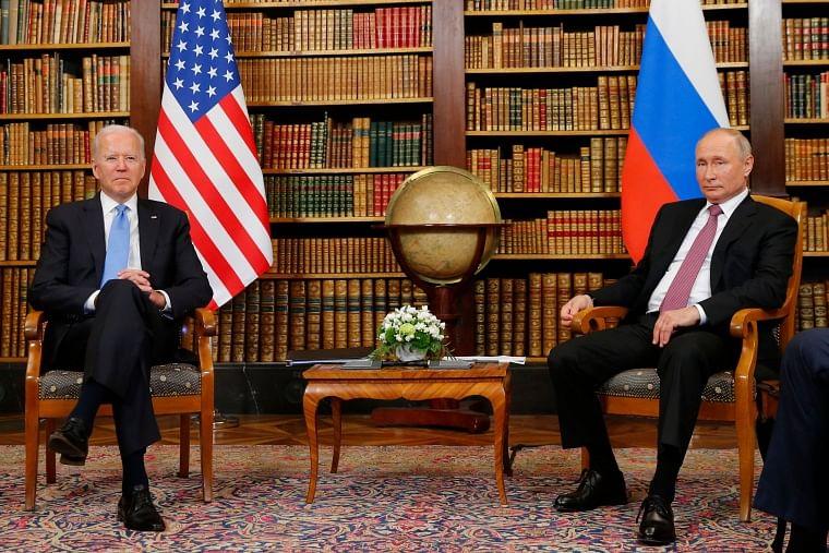 Summit between Joe Biden and Vladimir Putin ends after nearly four hours