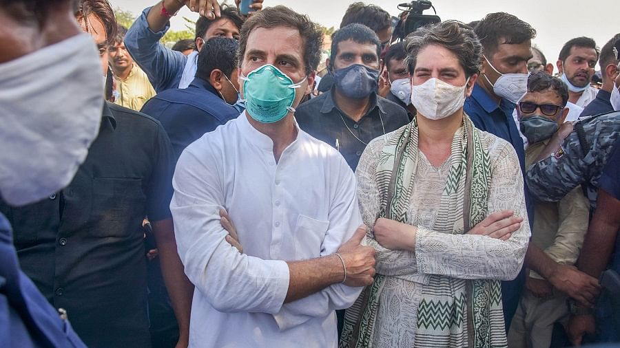'Shortage of oxygen and humanity in BJP rule': Rahul and Priyanka Gandhi slams govt over death of 22 amid Agra hospital's mock oxygen drill