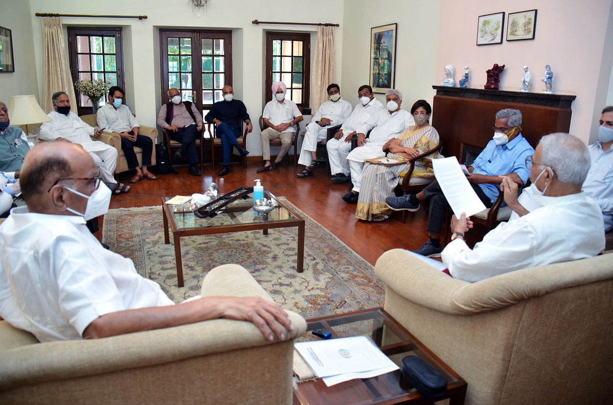 'Nothing political' says Sharad Pawar; zero credence from Rahul Gandhi