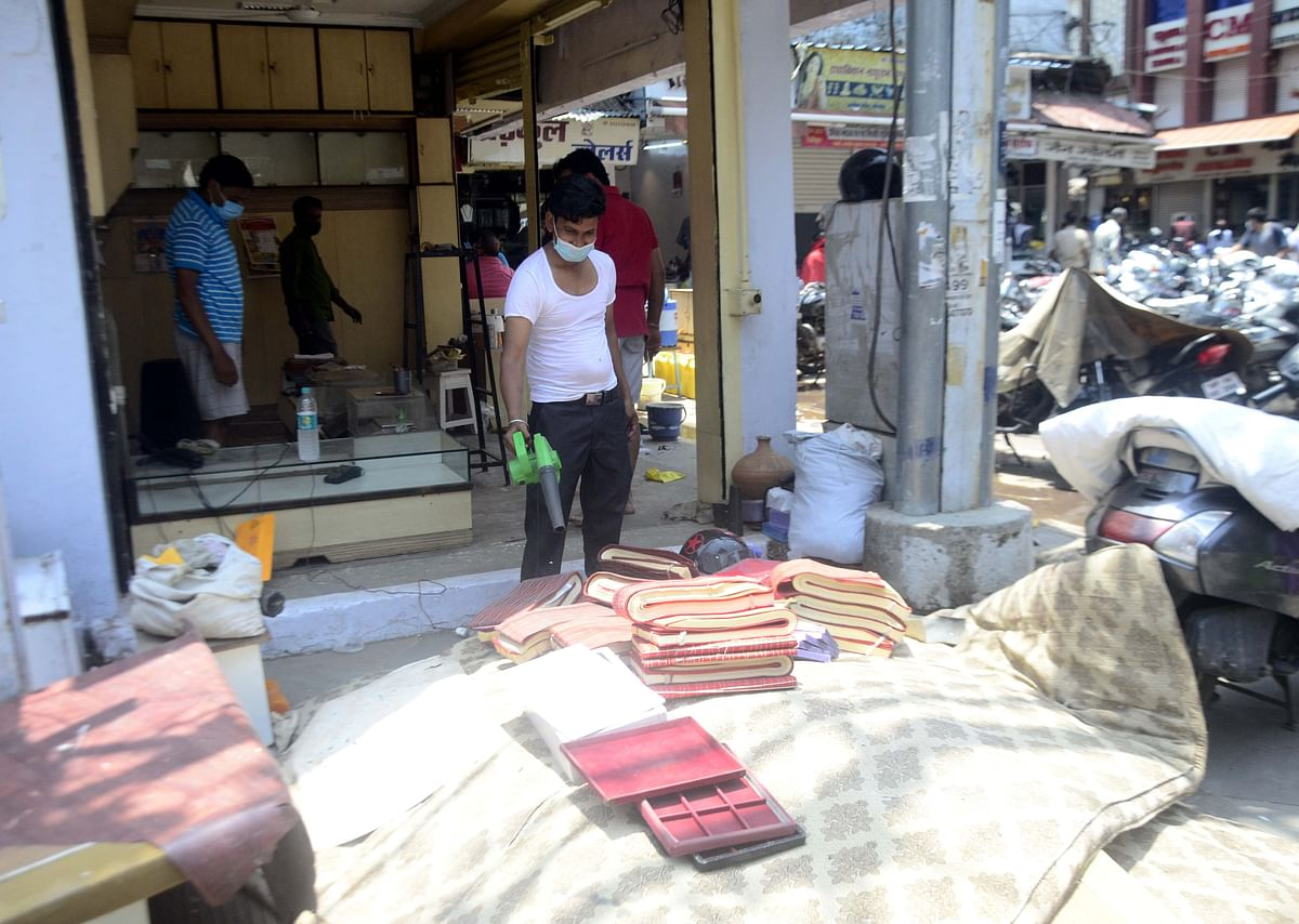 Bhopal: Markets to reopen today after two months, traders gear up to welcome shoppers to their safe and sanitized stores