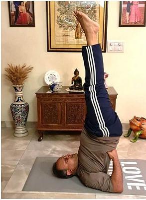 Madhya Pradesh: Guna folk celebrate International Yoga Day