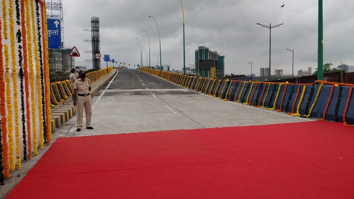 The flyover is 604 metres long