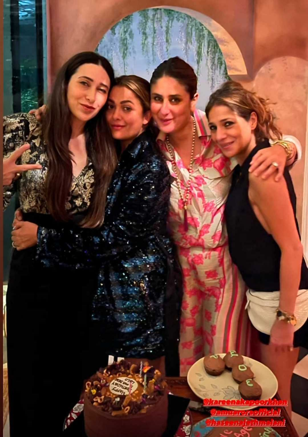 Inside Pics: Karisma Kapoor turns 47, gets a special birthday dinner from Kareena and Saif