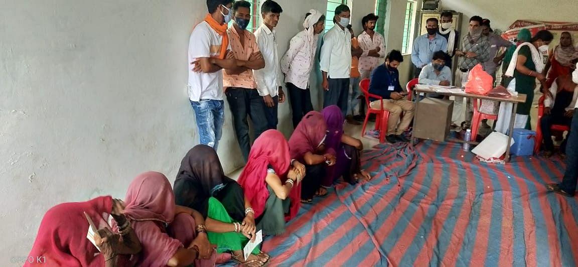 Madhya Pradesh: Over 9K more jabbed in Alirajpur, tally reaches 1,16,491