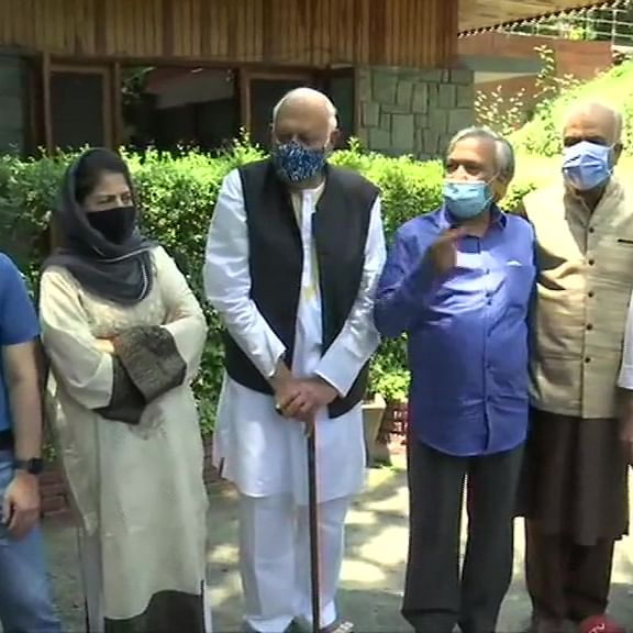 Jammu and Kashmir's Gupkar alliance to attend PM Modi's all-party meeting