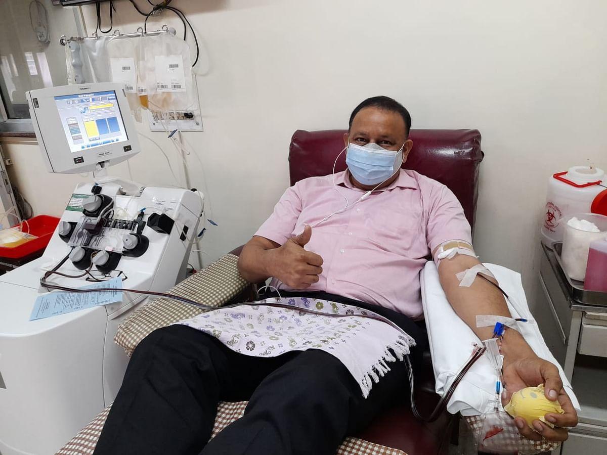 Angels of Mumbai: Man donates platelets 284 times!