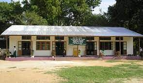 In Chikhli village, a primary school building is being used to store village panchayat's utensils