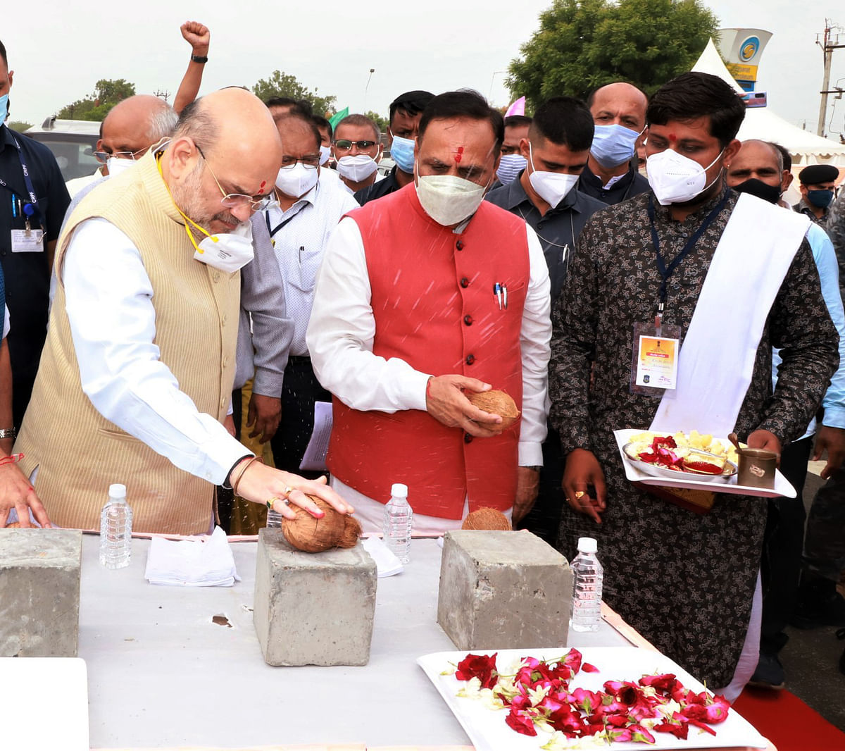 Gujarat: With Amit Shah in town, CM  Vijay Rupani rules out cabinet reshuffle rumours