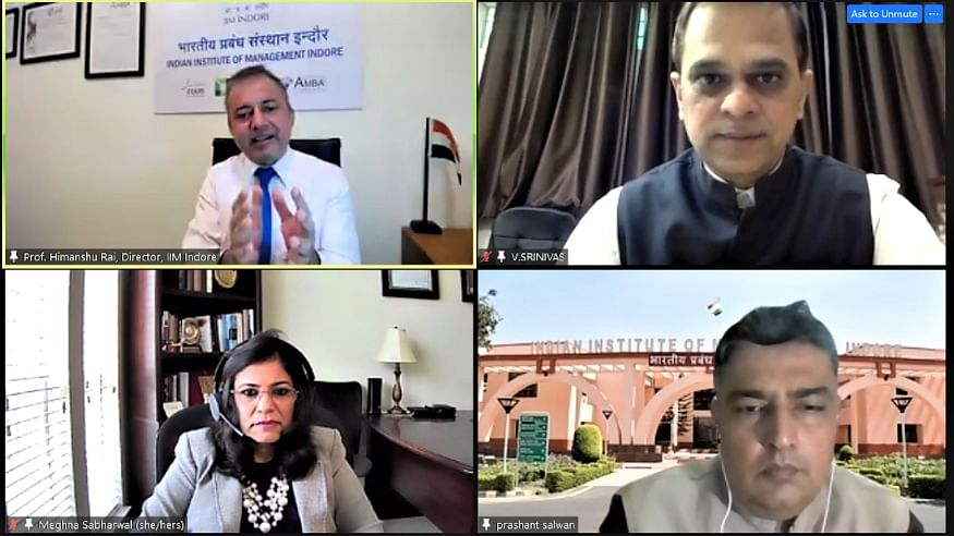 Indore: IIM holds webinar on Leadership, Improving Job Satisfaction and Commitment in the Public Service