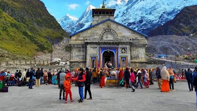 The four pilgrimage sites in Uttarakhand are Badrinath, Kedarnath (in pic), Yamunotri, and Gangotri