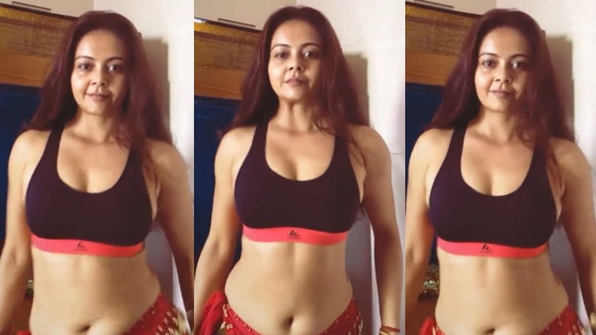 'Gopi bahu ye kya': Devoleena Bhattacharjee brutally trolled for her belly dancing - watch video