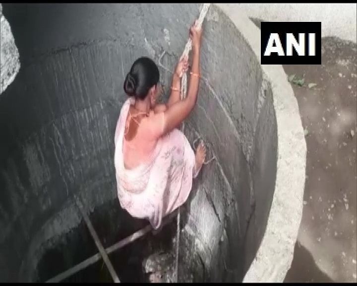 Photos: Family in Maharashtra's Washim digs a well in 22 days to ease water woes