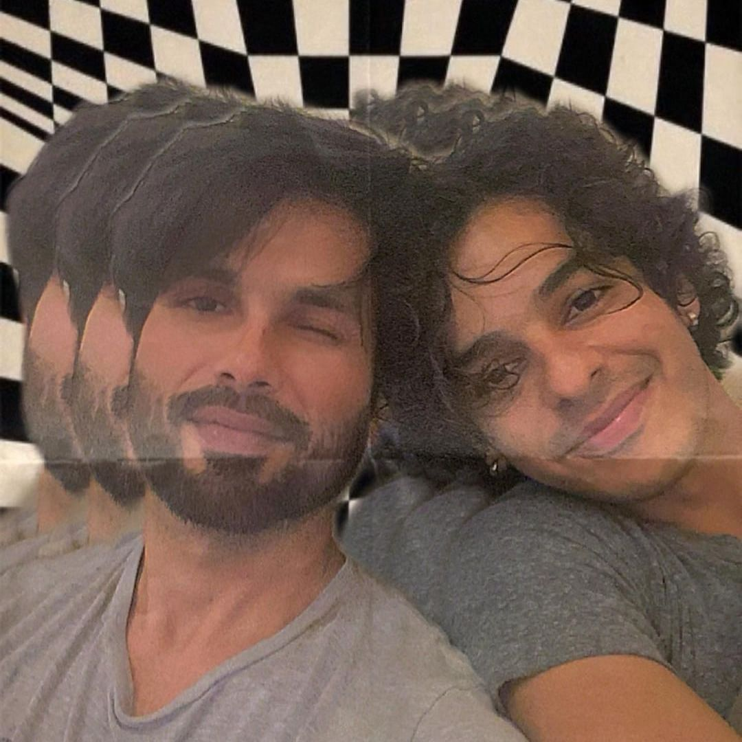 Shahid Kapoor gives 'Karan Arjun' touch to his latest post with brother Ishaan Khatter; check out latter's hilarious comment