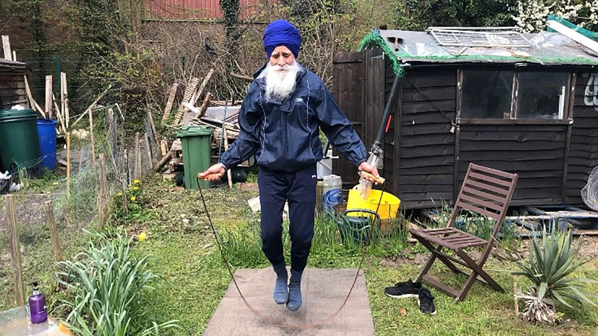 United Kingdom: 'Skipping Sikh' awarded an MBE for promoting exercise and fitness during lockdown