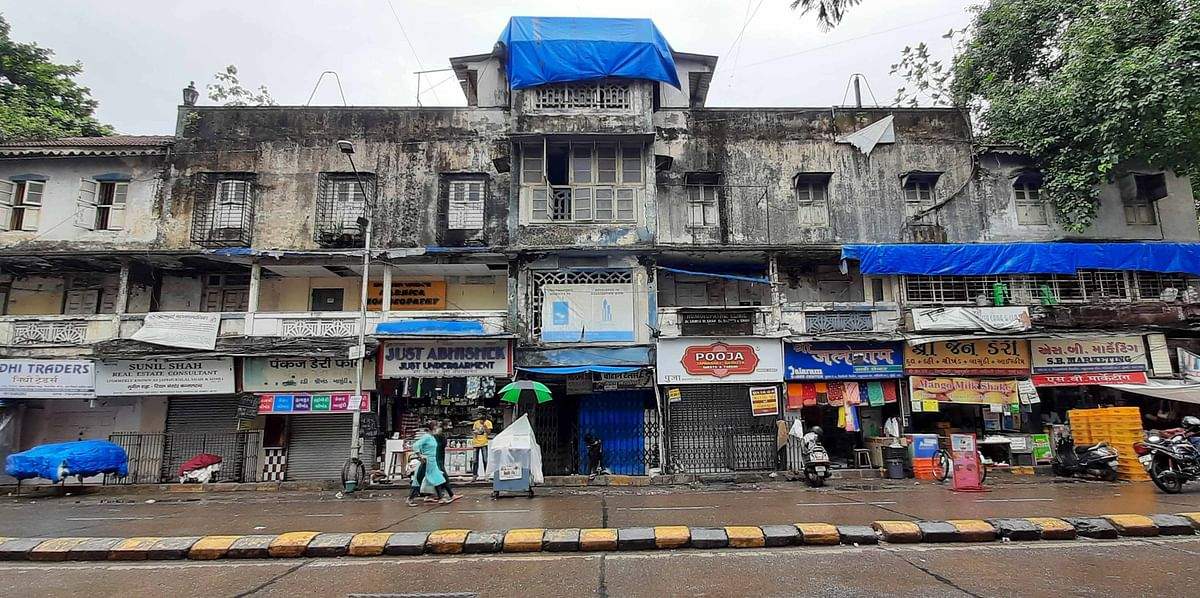 Buildings on the Brink: 60-year-old commercial building in Kandivali on its last leg but shopkeepers refuse to budge