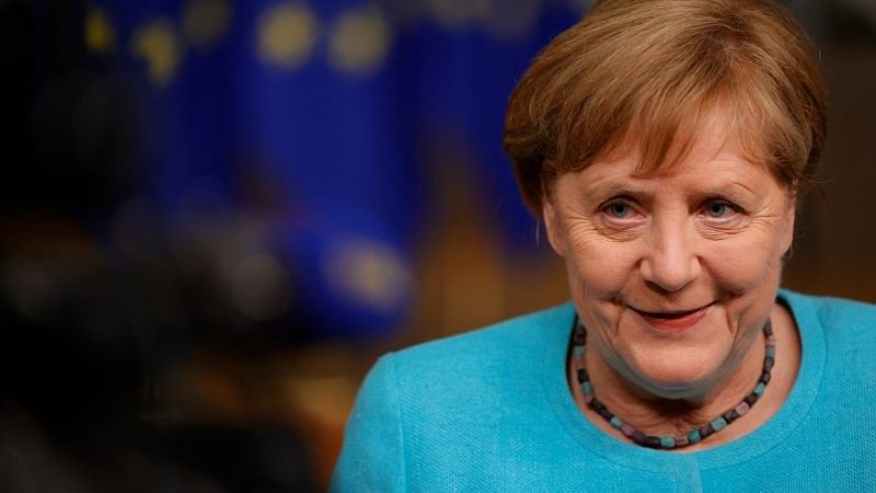 Ban the Britons:Angela Merkel